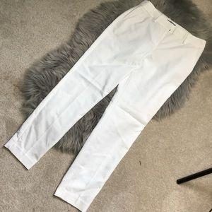 Express White Columnist Pants Size 0